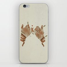 Red String of fate iPhone Skin