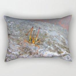 Garish Grasshopper Rectangular Pillow