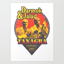 Darmok and Jalad at Tanagra - Sunset Art Print