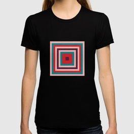 Mid century gingham #homedecor #midcenturydecor T-shirt