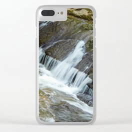 Soft water Clear iPhone Case