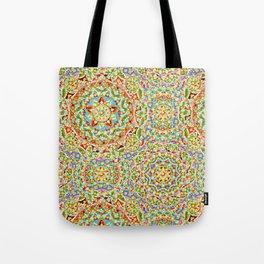 Rainbow Candy Trinkets Tote Bag