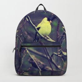 I Spy a Goldfinch Backpack