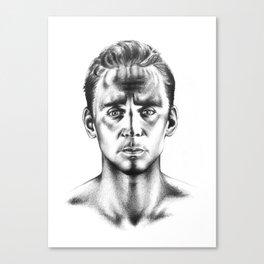 Tom Hiddleston 3 Canvas Print