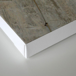 Belgrade / Concrete Canvas Print