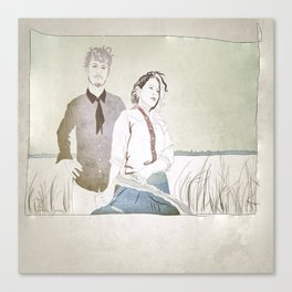Shovels & Rope Canvas Print