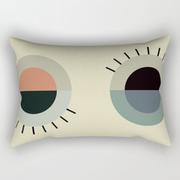 day eye night eye Rectangular Pillow