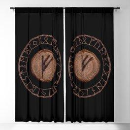 Fehu Elder Futhark rune Possessions, earned income, luck. Abundance, financial strength, hope Blackout Curtain