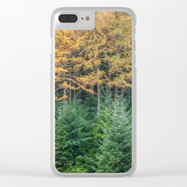 Yellow & Green - Ireland(RR 251) Clear iPhone Case