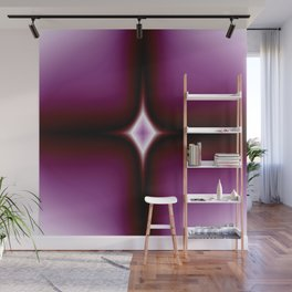 Amethyst Star Gem Abstract Wall Mural