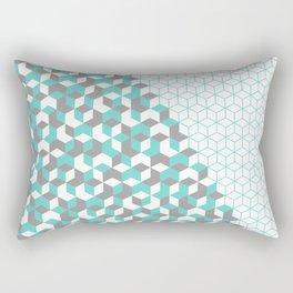Hexagon(blue) #2 Rectangular Pillow