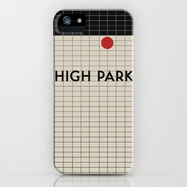 HIGH PARK | Subway Station iPhone Case