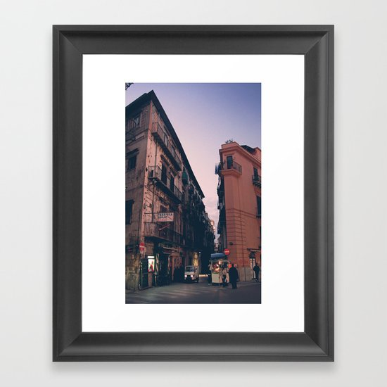 Scrape The Sky Framed Art Print