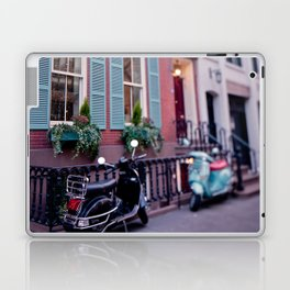 The blue shades Laptop & iPad Skin
