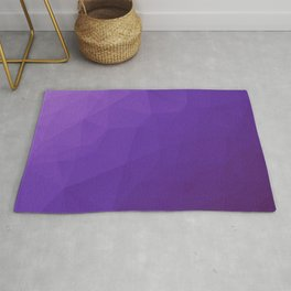 Ultraviolet Low Poly Rug