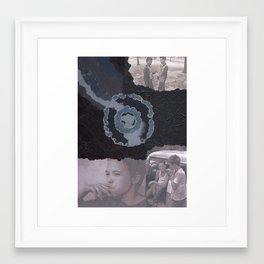 Slightly Darkened Framed Art Print