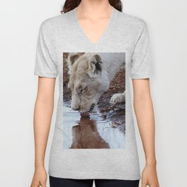 Not just a puddle but survival Unisex V-Neck