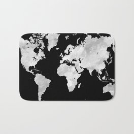 Design 70 world map Bath Mat
