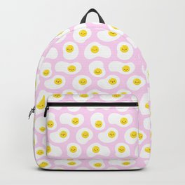 Cute Fried Eggs Pattern Backpack