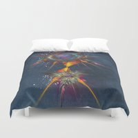 dreamcatcher Duvet Covers featuring Dreamcatcher by jbjart