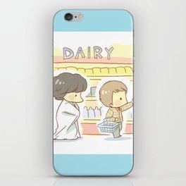 Groceries iPhone Skin