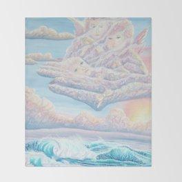 Les anges gardiens de l'amour Throw Blanket