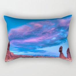 """""""Balanced Sunset"""" Rectangular Pillow"""