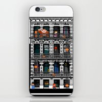 donkey kong iPhone & iPod Skins featuring Donkey Kong City by Ryan Huddle House of H
