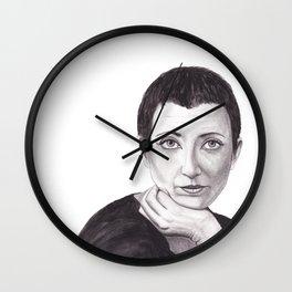 Helene Cixous Wall Clock