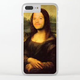 The Mona-Misha Clear iPhone Case