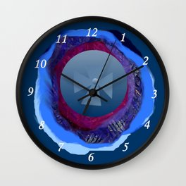 Four senses Wall Clock
