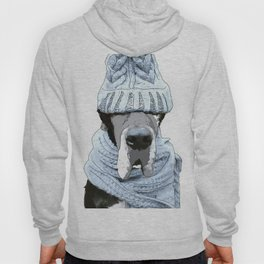Great Dane Winter is Here Hoody
