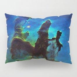 NEbula. : Teal Green Pillars of Creation Pillow Sham