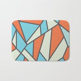 Geometric Colour Pattern V3 Bath Mat