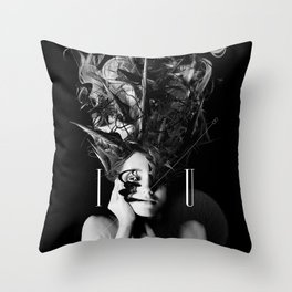 I / U Throw Pillow