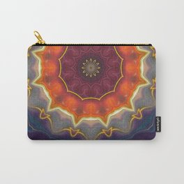 Crowned Carry-All Pouch