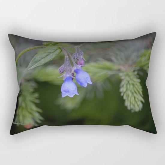 Bluebells Rectangular Pillow