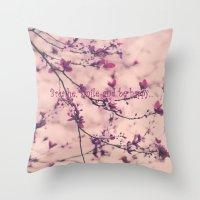dress Throw Pillows featuring Lace Dress by Irina Wardas