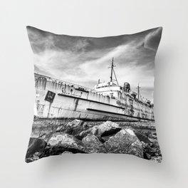 Final Voyage Throw Pillow