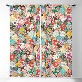 sarilmak patchwork Blackout Curtain