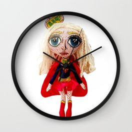 Kara Zoe-El ~ Supergirl Wall Clock