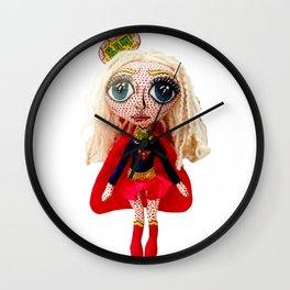 Kara Zoe-El ~ Supergirl Wall Clock