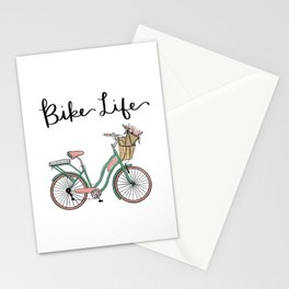 Bike Life Stationery Cards