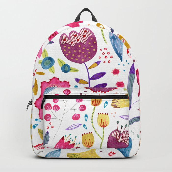 Autumn Hedgerow Backpack