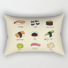 Sushi Days Rectangular Pillow