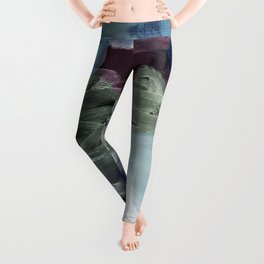 abstract painting XIV Leggings
