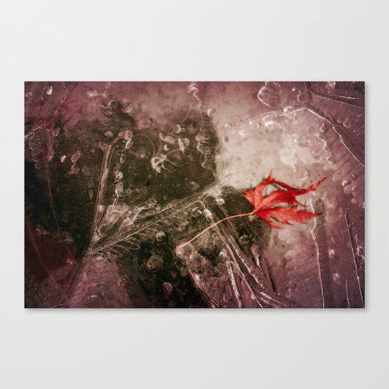 On Ice Canvas Print