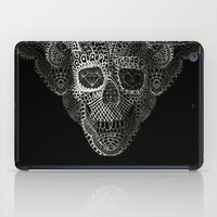 hell iPad Cases featuring Lace Skull by Ali GULEC