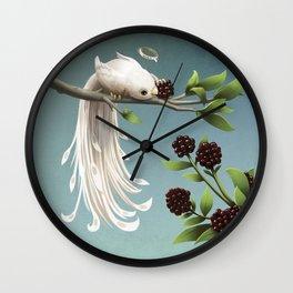 Countess of the Bramble Wall Clock