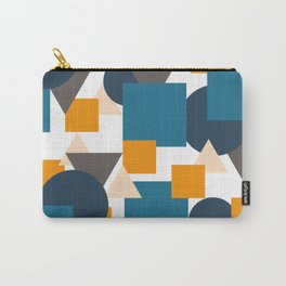 Geometric Mixture Carry-All Pouch